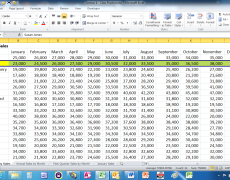 Move Data in an Excel Worksheet Without Replacing Existing Data