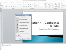 Create a PowerPoint Handout in Word