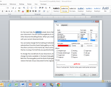 Repeat the Last Action in Word