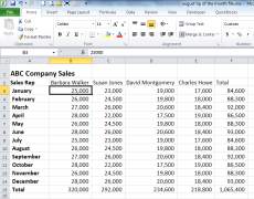 Transpose Rows and Columns in Excel